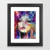 Colourful Tears Framed Art Print