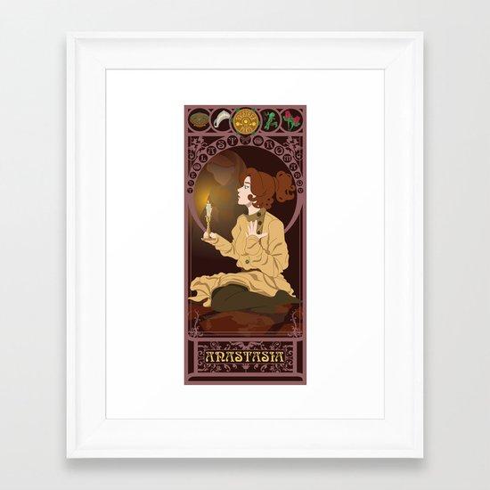Anastasia Nouveau - Anastasia Framed Art Print