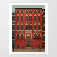 Williamsburg Art Print
