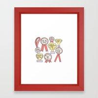 Little Victories Framed Art Print