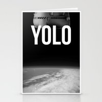 Felix Baumgartner YOLO Stationery Cards