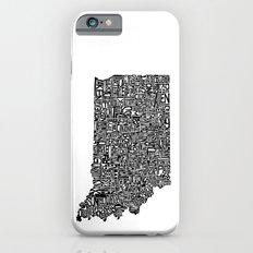 Typographic Indiana Slim Case iPhone 6s