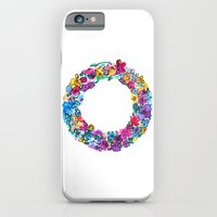 O Letter Floral iPhone 6 Slim Case