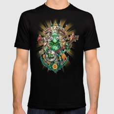 Star Gazer Black SMALL Mens Fitted Tee