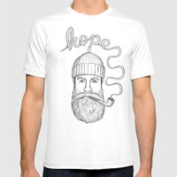 Hope Mens Fitted Tee White SMALL