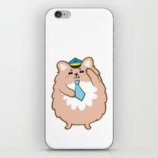 Animal Police - Pomeranian iPhone & iPod Skin