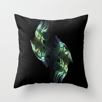 Fight To The Death Throw Pillow