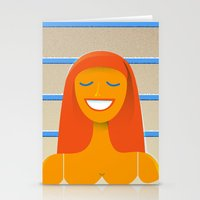 Carpet Swimmer Stationery Cards