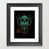 Poison Love Framed Art Print