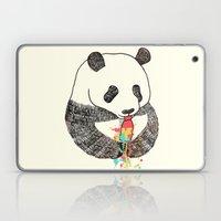 Panda Loves Ice Cream Laptop & iPad Skin