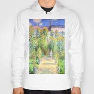 Monets Garden At Vetheui… Hoody