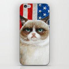 Born to be Grumpy iPhone & iPod Skin