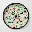Sushi Love Wall Clock