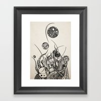 Bothria Framed Art Print