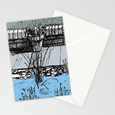 Pond Plants in Colour Stationery Cards
