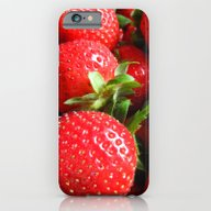 Abstract Strawberry Art iPhone 6 Slim Case