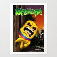 Spyüngo! #1 Art Print