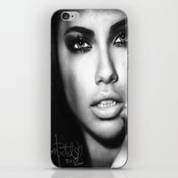 Adriana Lima iPhone & iPod Skin