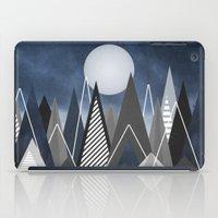Midnight Mountains iPad Case