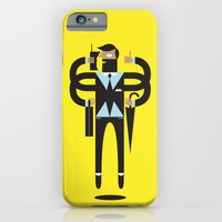 iPhone & iPod Case featuring Back to Business by Torso Vertical, Illustration and Design