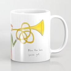 blow the horn you've got Mug