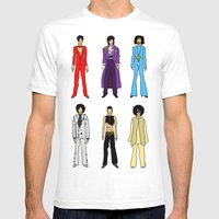 Outfits of Prince Fashion on White Mens Fitted Tee White SMALL
