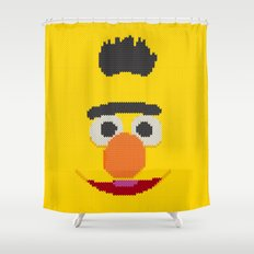 Knit Bert Shower Curtain