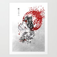 Madame Butterfly Art Print