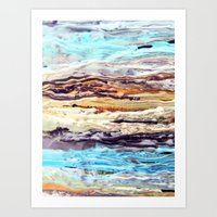 Wax #1 Art Print