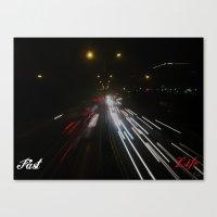Fast Life Canvas Print