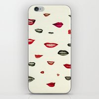 Stealing Kisses iPhone & iPod Skin