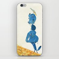 Up the hill we go! iPhone & iPod Skin