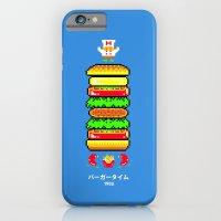 BurgerTime iPhone 6 Slim Case