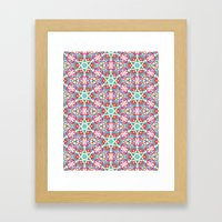 Watercolor Boho Dash 1 Framed Art Print