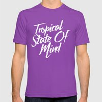 Tropical State Of Mind Mens Fitted Tee Ultraviolet SMALL