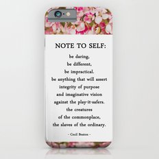 note to self. Slim Case iPhone 6s