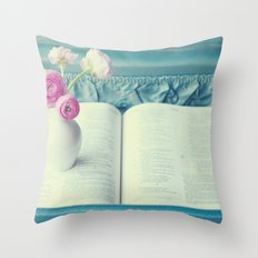 Alone. Throw Pillow