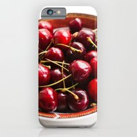 iPhone & iPod Case featuring Cherry bowl by Ginta Spate