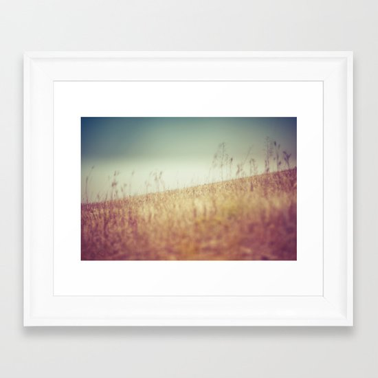 tilt Framed Art Print