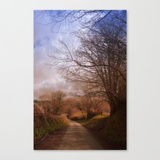 Country walk Canvas Print