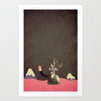 bitter sweet symphony  Art Print