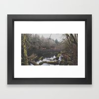 Hidden Pond Framed Art Print
