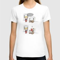 Mister Wilson Womens Fitted Tee White SMALL