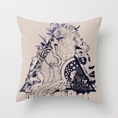 Playful Mind Throw Pillow