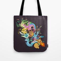Eevee Band Tote Bag