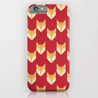 Mr. Fox Pattern iPhone 6 Slim Case