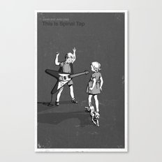 Janet And John Play This is Spinal Tap Canvas Print