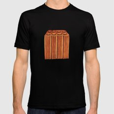 Brazilian's Brick Black SMALL Mens Fitted Tee