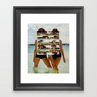 Bee Keen E. Gurls Framed Art Print