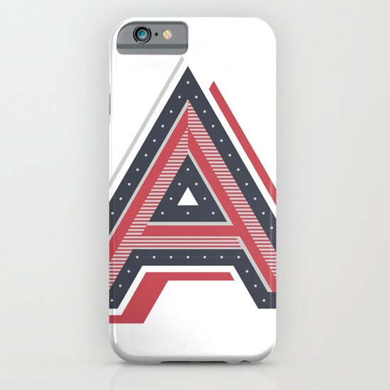 The Letter A iPhone & iPod Case